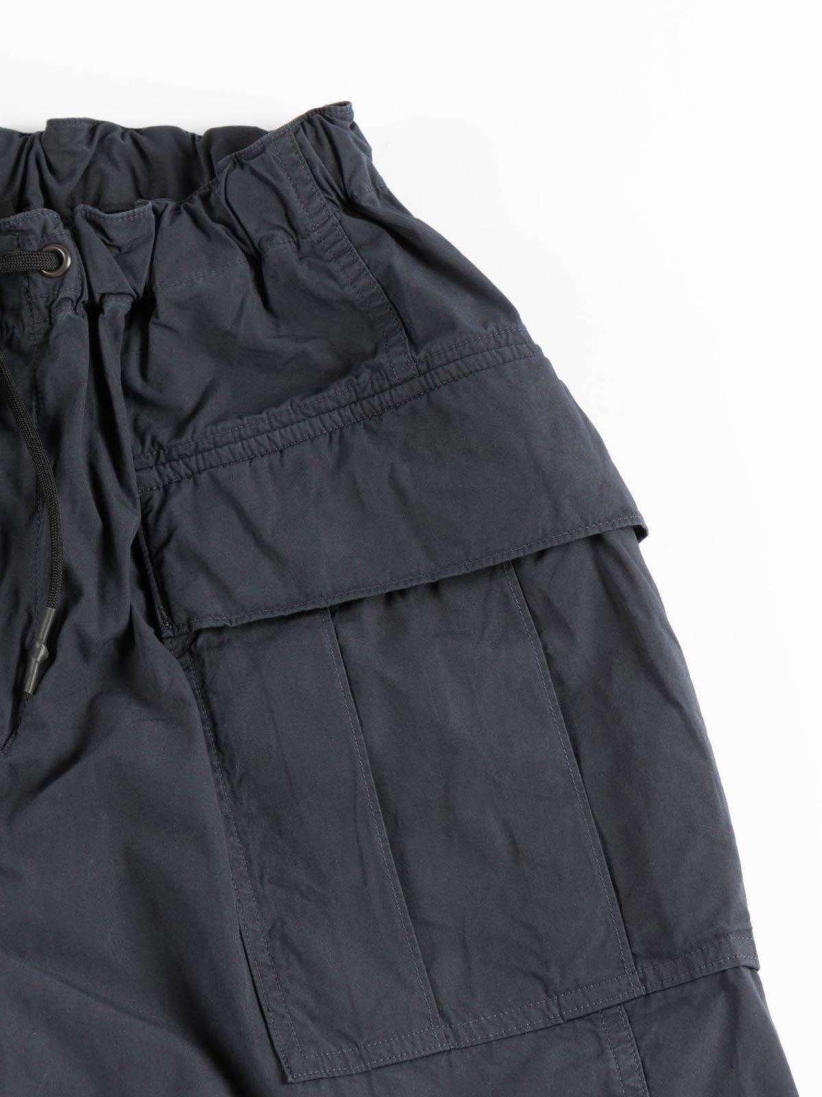 EASY CARGO SHORTS NAVY TYPEWRITER CLOTH - Image 3