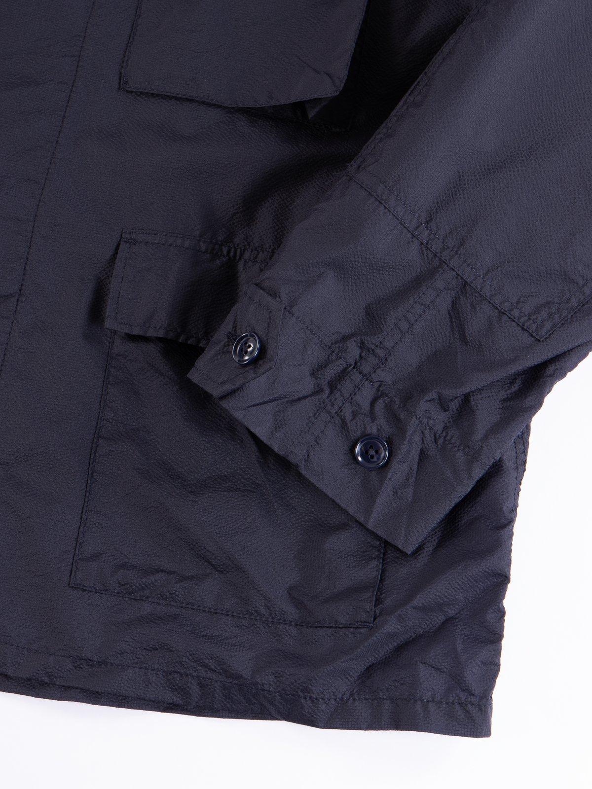Dark Navy Nylon Micro Ripstop BDU Jacket - Image 4