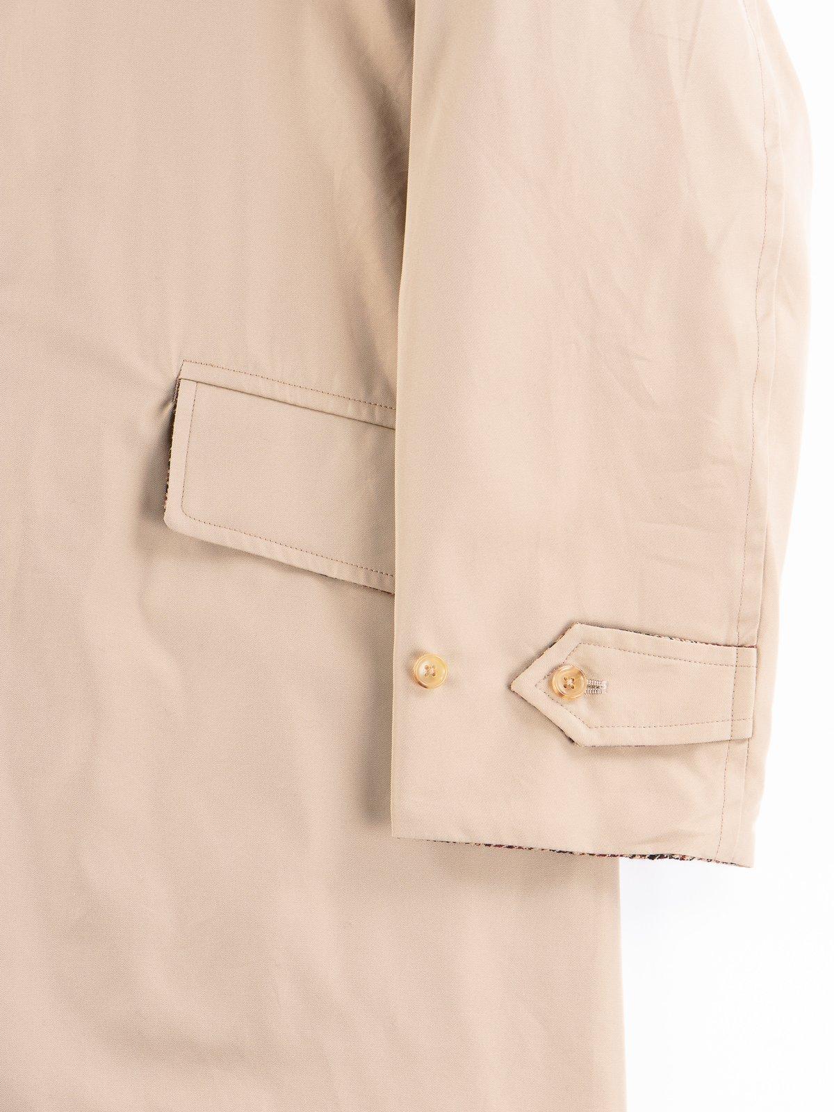 Light Khaki/Gunclub Reversible Balmacaan Coat - Image 5