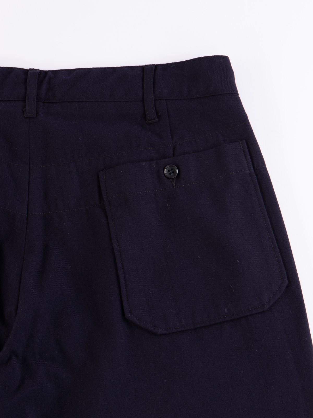 Dark Navy Wool Uniform Serge Carlyle Pant - Image 5