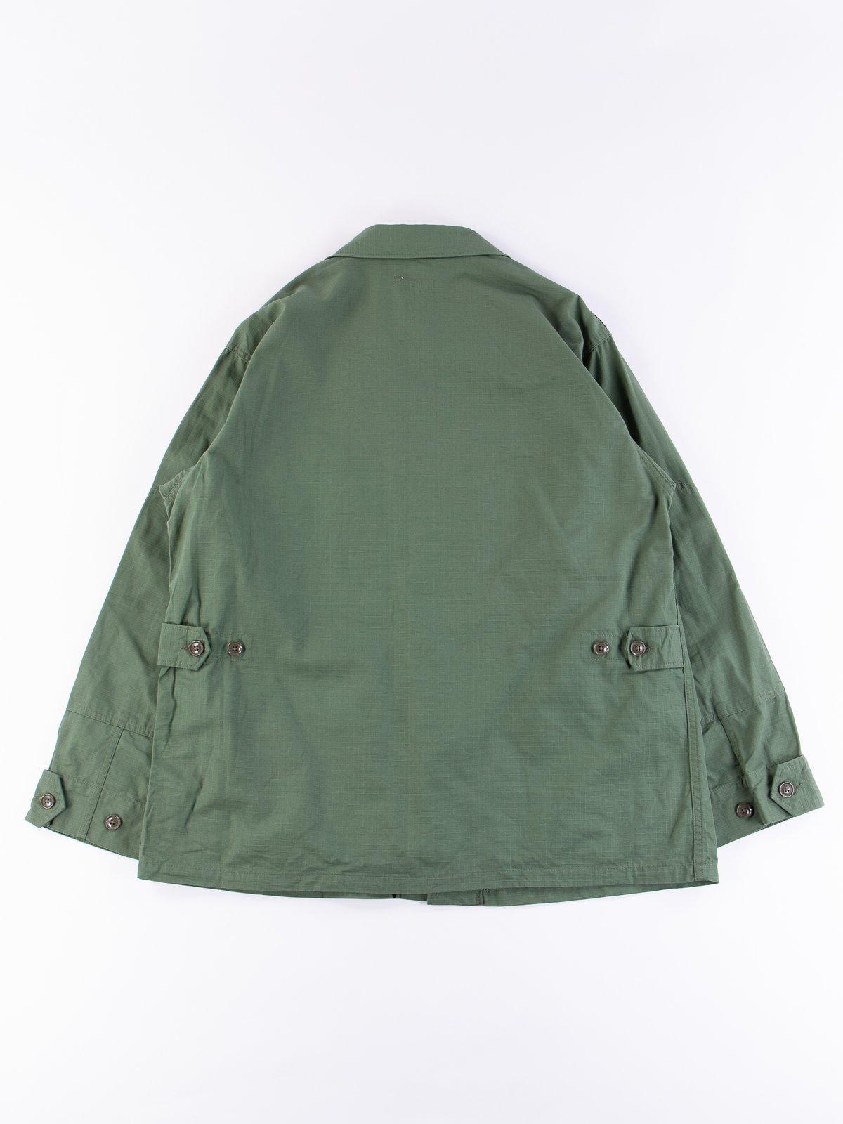 Olive Cotton Ripstop BDU Jacket - Image 5