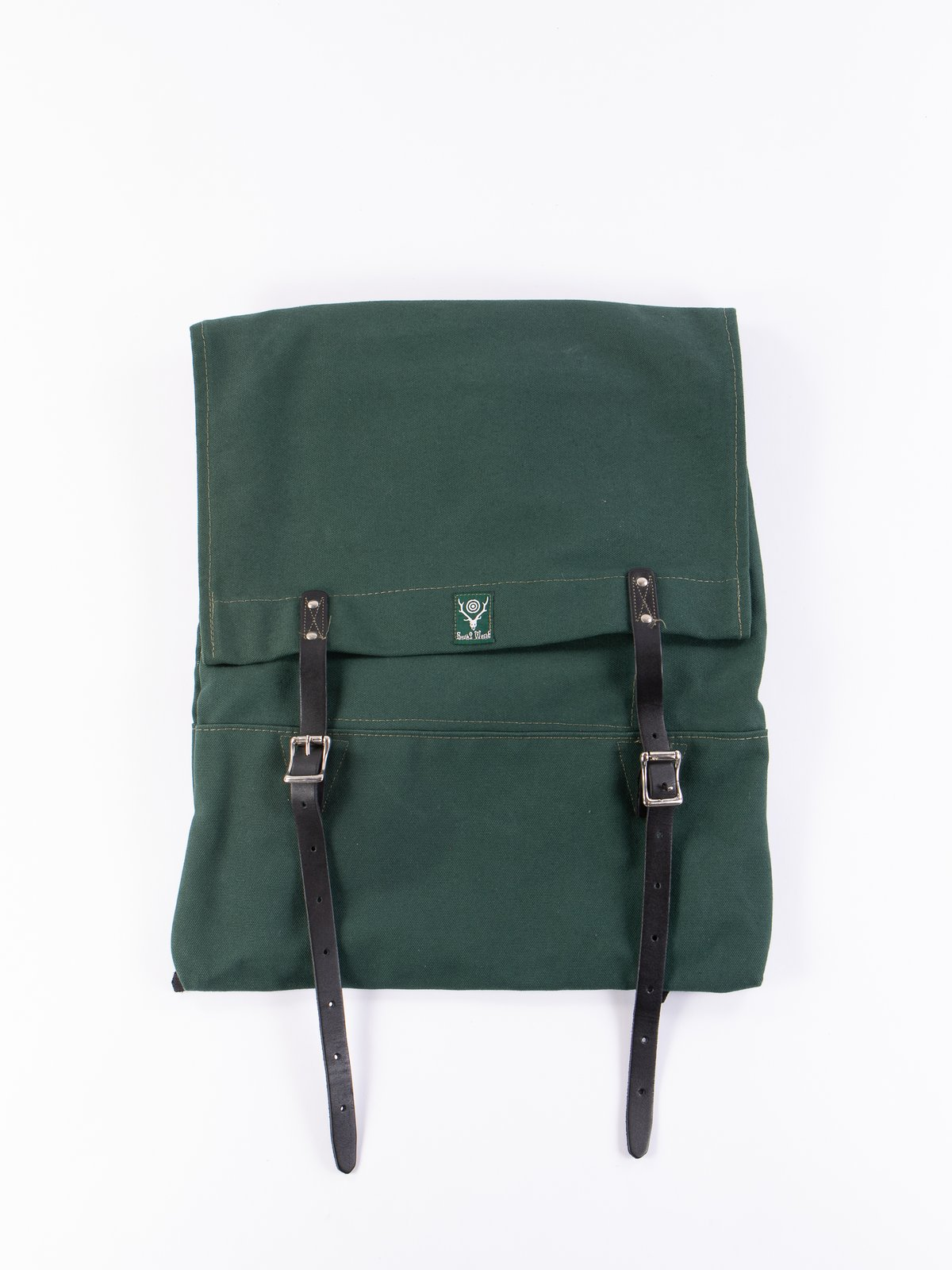 Hunter Green 18oz Canvas Trek Pack - Image 1