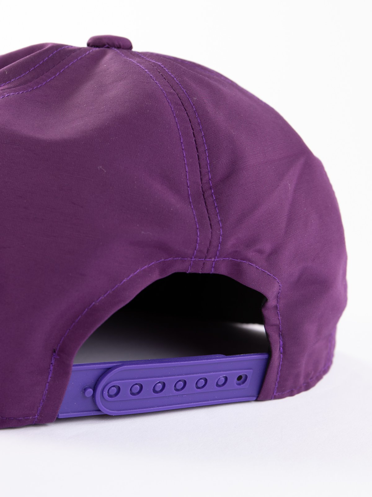 Purple Tenkara Embroidered Trucker Cap - Image 4