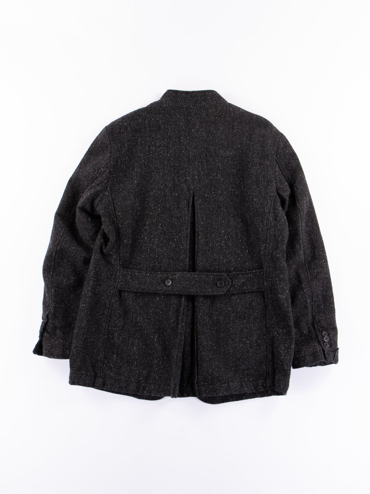 Charcoal HB Tweed Grim Jacket - Image 8