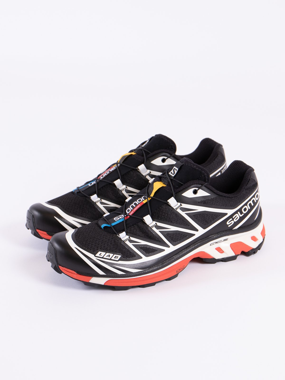 BLACK/VANILLA/RACING RED XT–6 SOFTGROUND LT ADV - Image 2