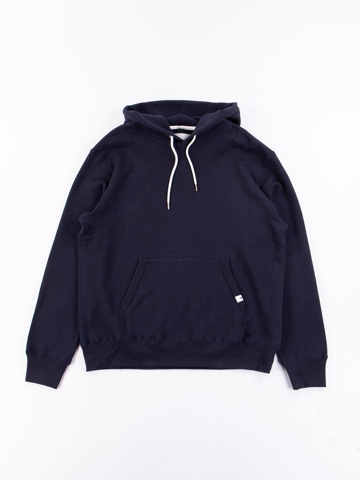 Navy Pullover Hoodie - Image 1