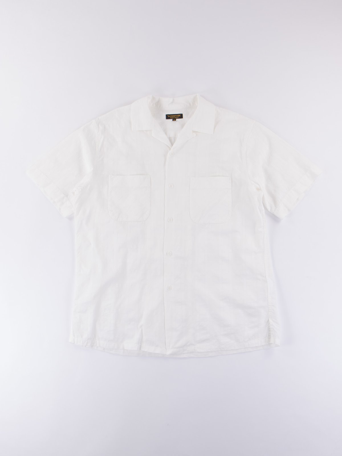 White Open SS Shirt - Image 1