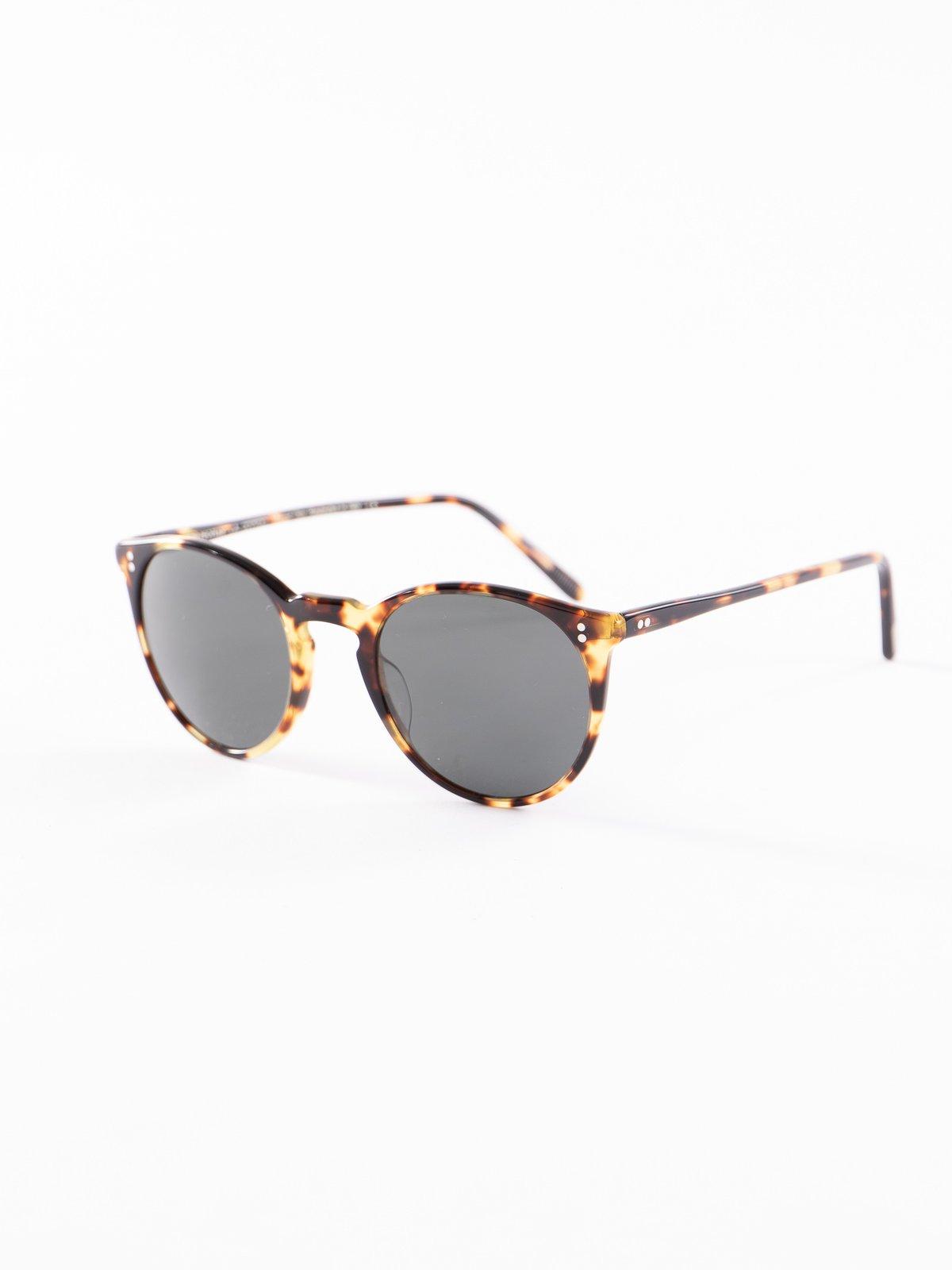 Vintage DTB/Dark Grey Polar O'Malley Sunglasses - Image 2