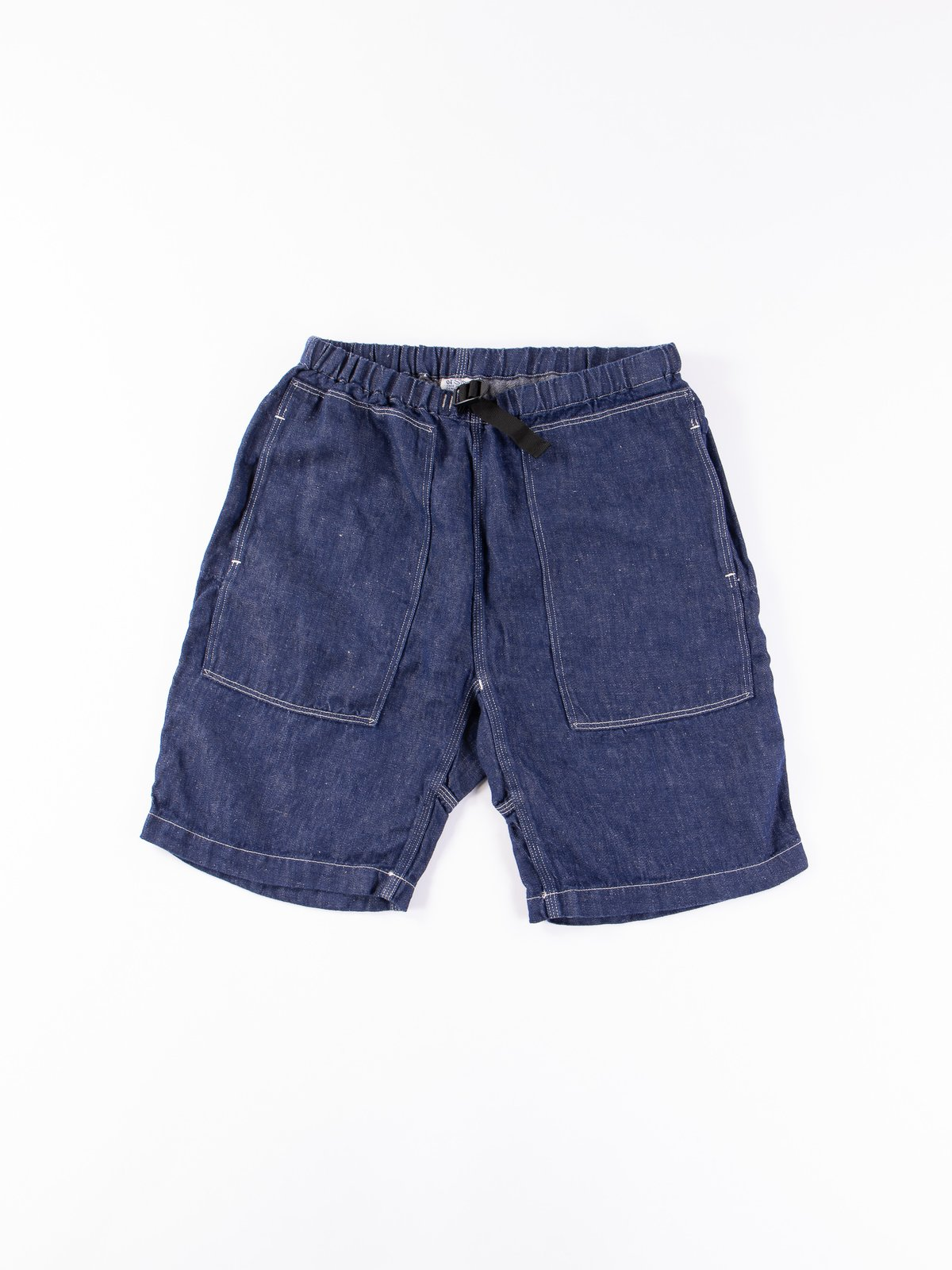 One Wash Linen Denim Climbing Short - Image 1