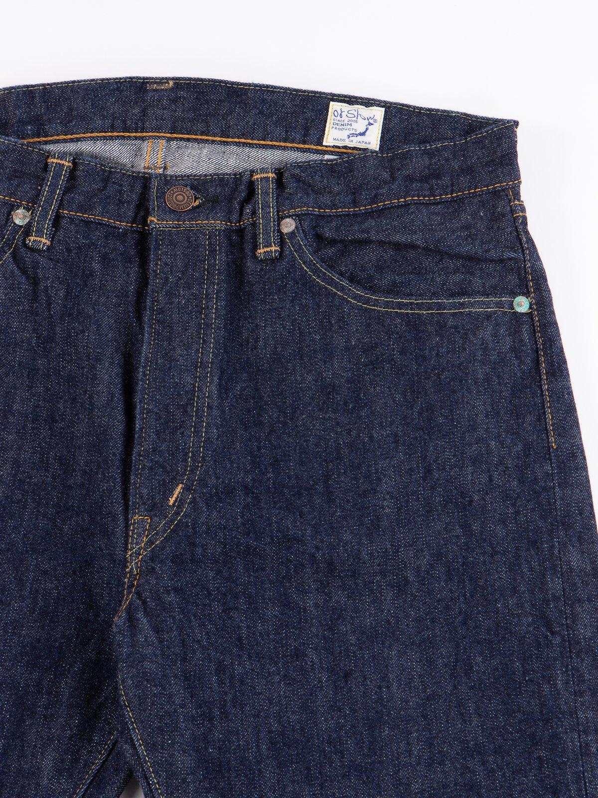 Indigo One Wash 107 Slim Fit Jean - Image 4