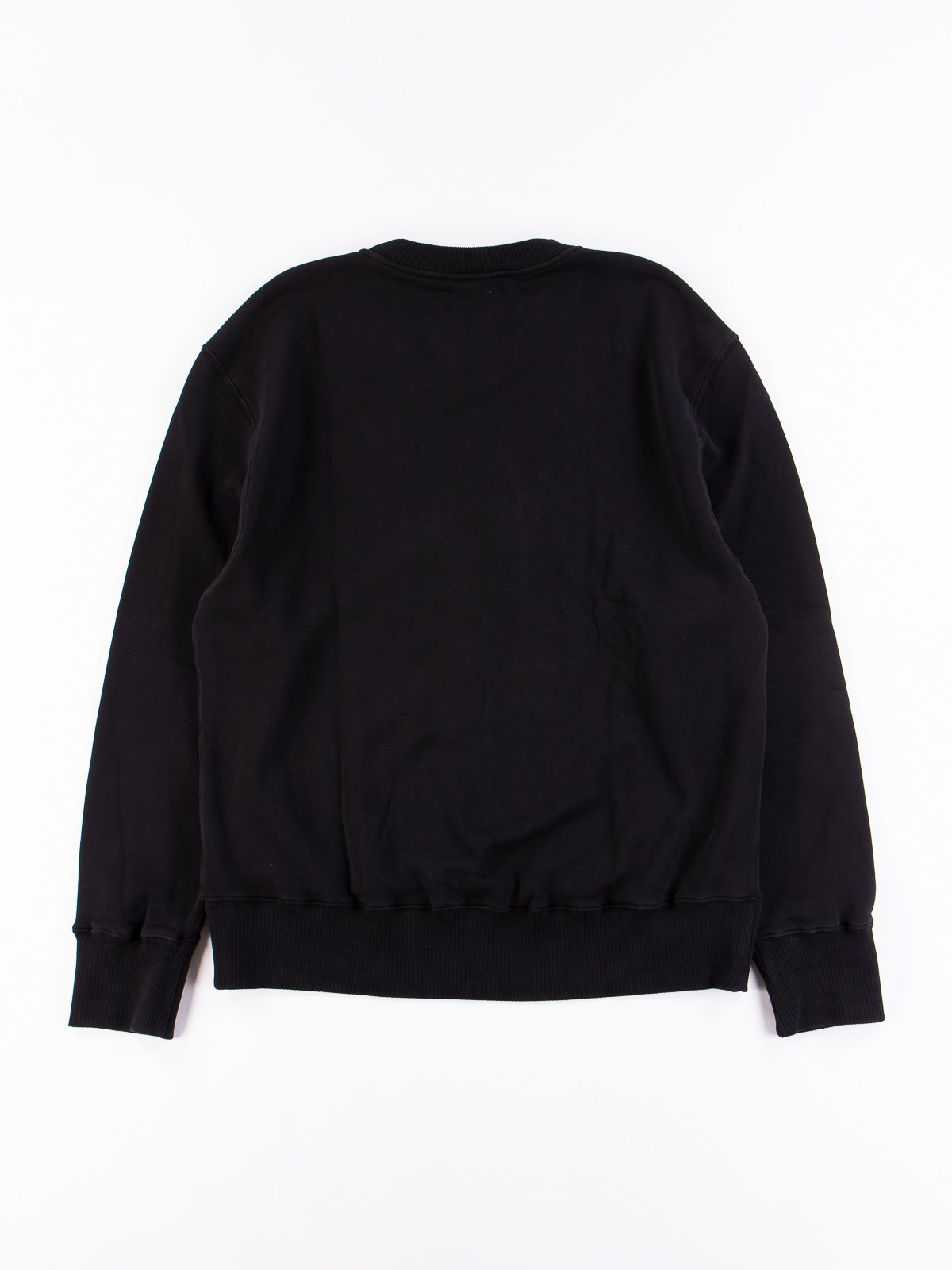 Deep Black Good Basics CSWOS01 Oversized Crew Neck Sweater - Image 5
