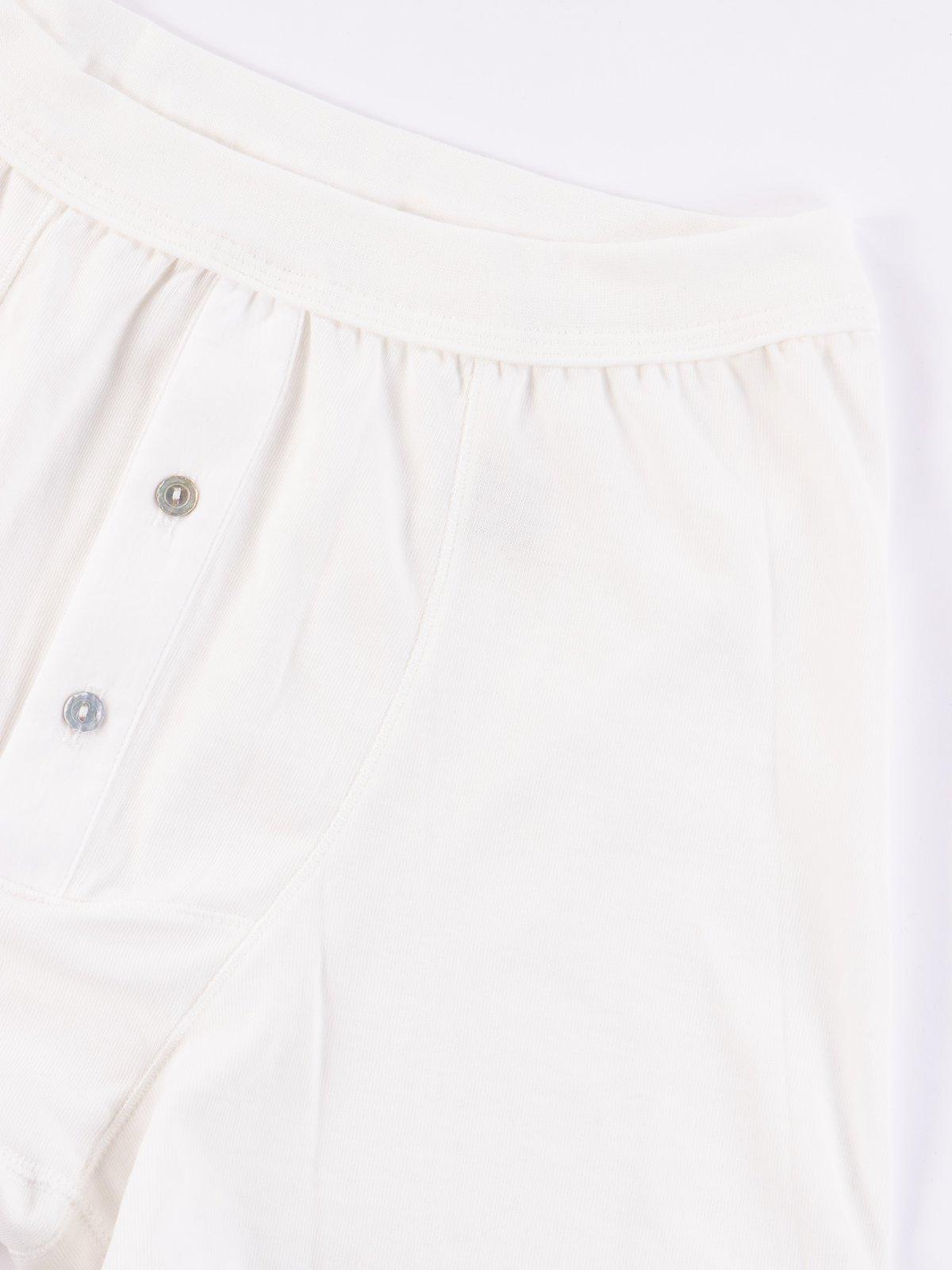 White 255 Button Fly Boxer - Image 2