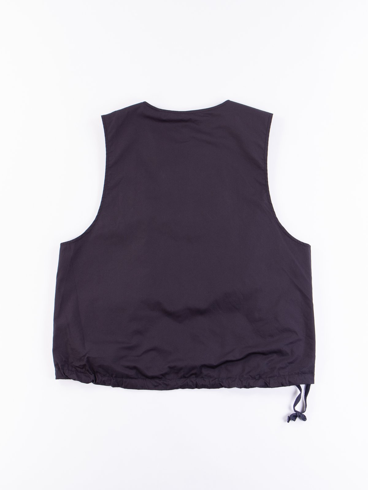 Dark Navy High Count Twill Cover Vest - Image 5