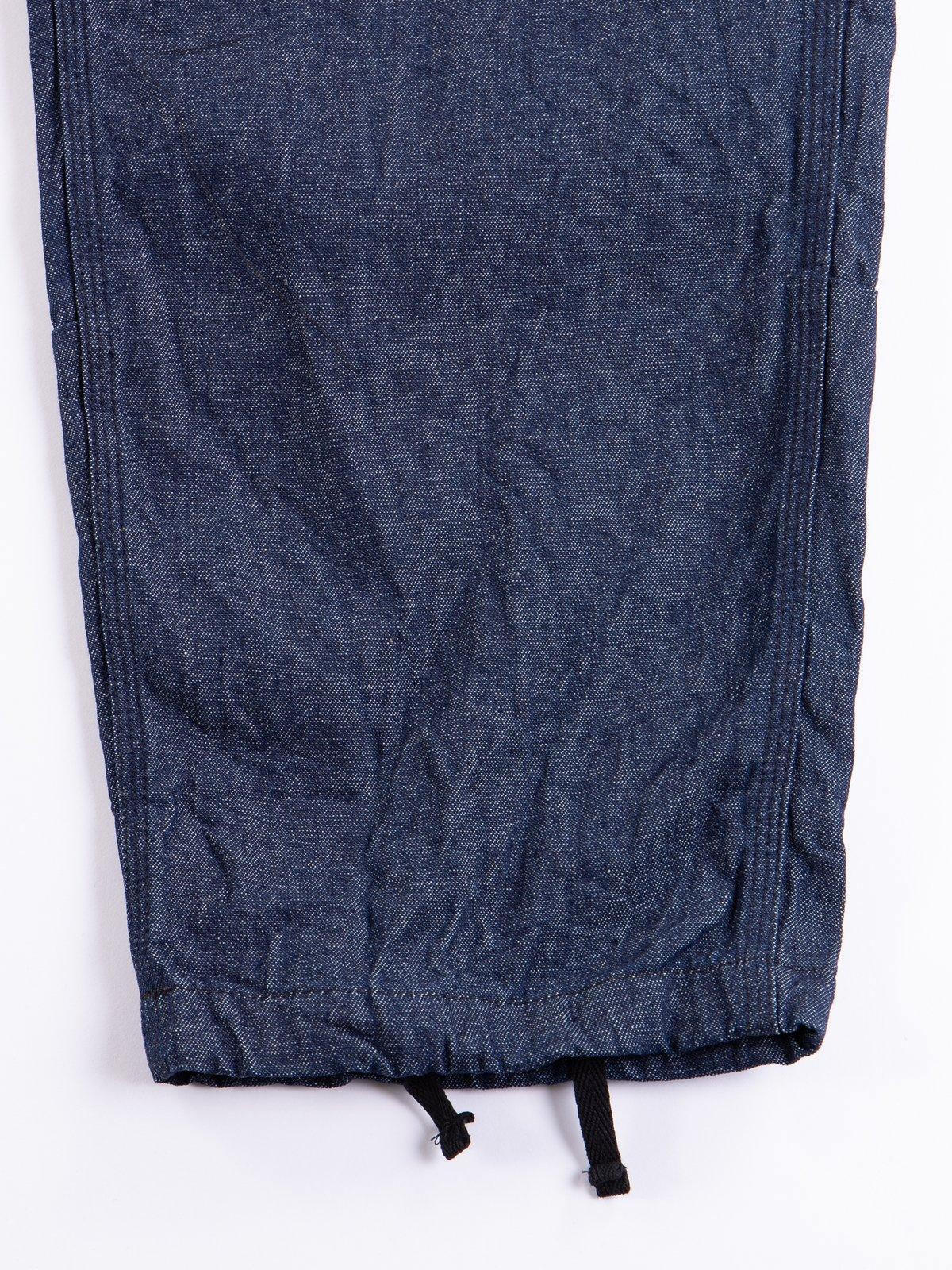 Dark 8oz Denim Solid Painter Pant - Image 4