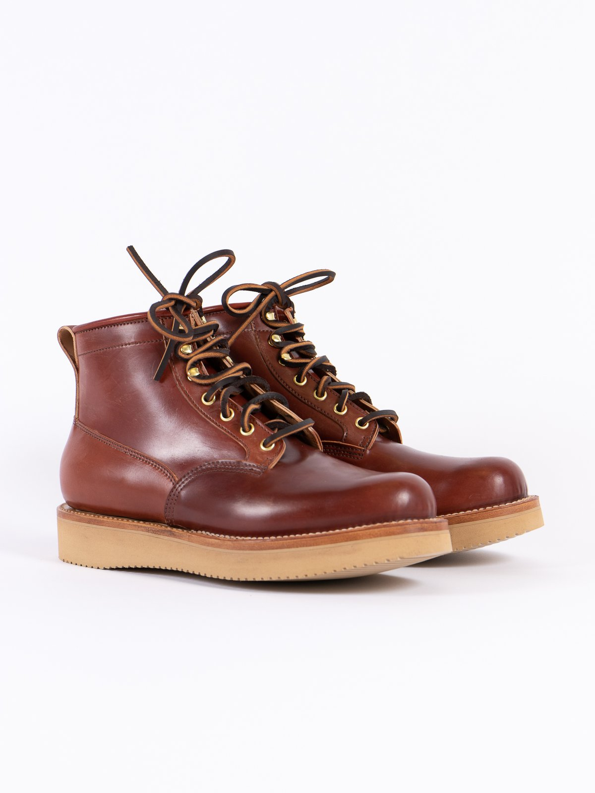 Garnet Shell Cordovan Scout Boot - Image 1
