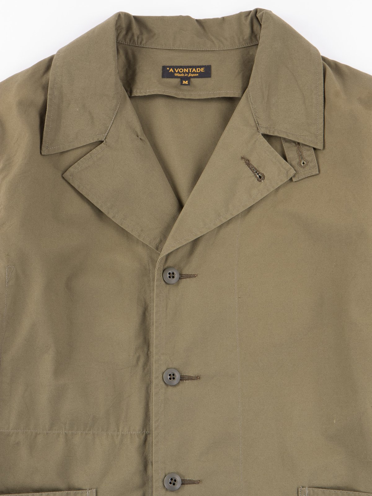 Olive Utility Coverall Jacket - Image 2