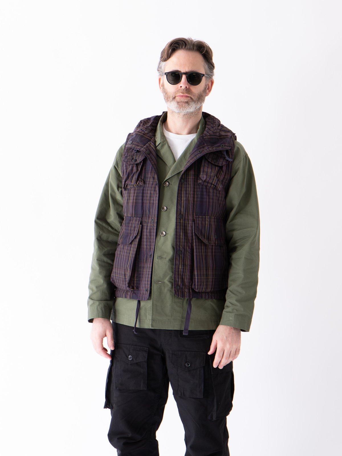 Olive Cotton Ripstop M43/2 Shirt Jacket - Image 3