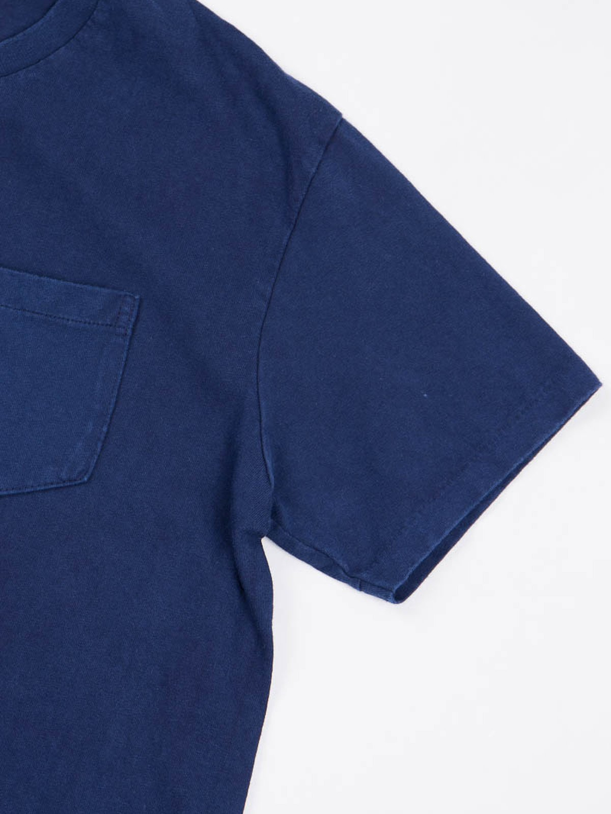 Blue Indigo 1–Pac Pocket Tee - Image 4