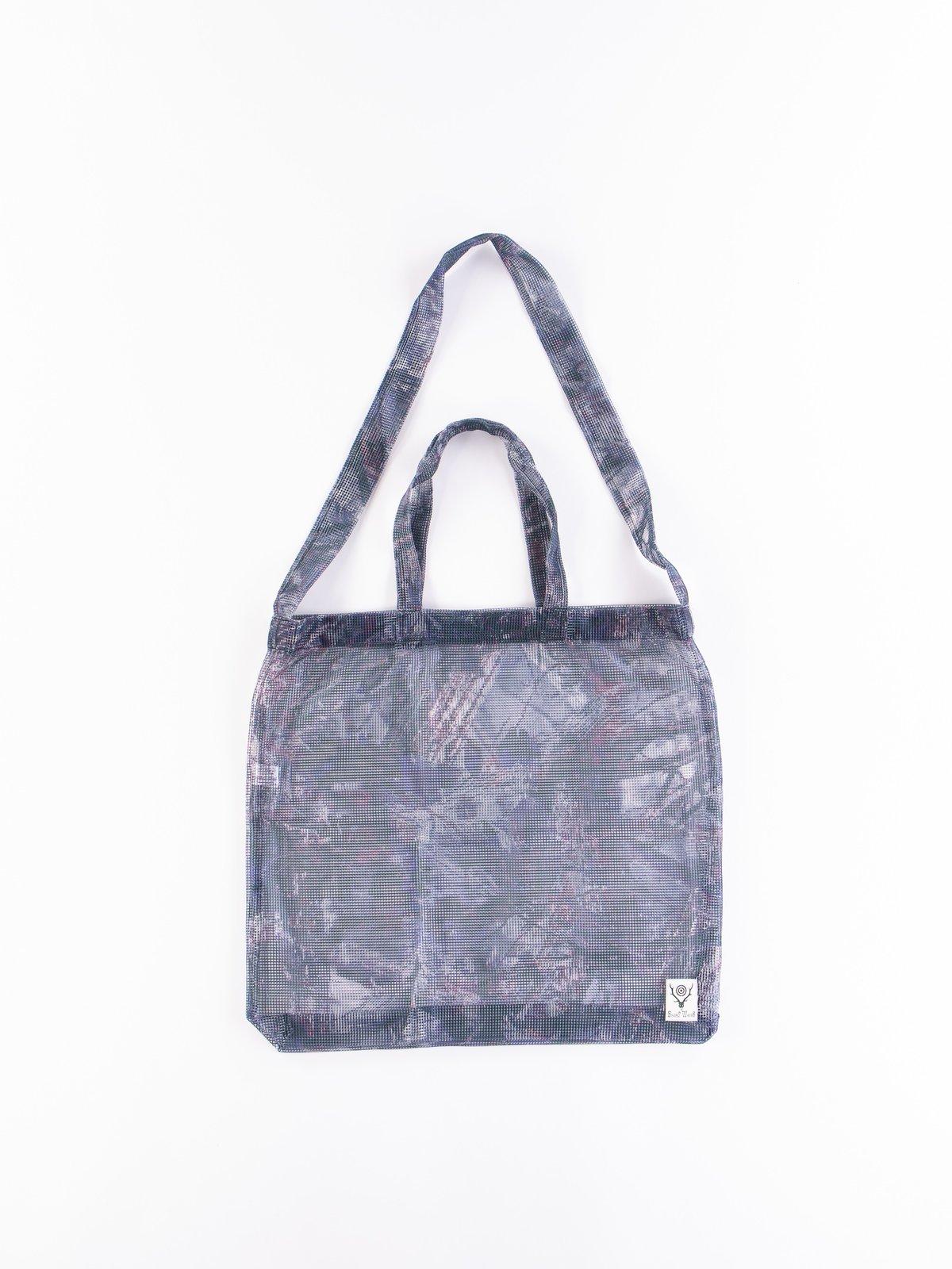 Camo Poly Mesh Grocery Bag - Image 1