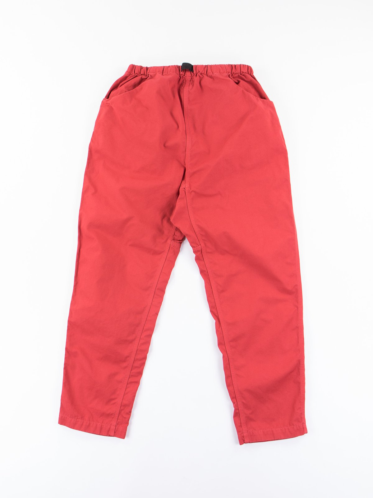 Red Overdyed Poplin Climbing Pant - Image 5