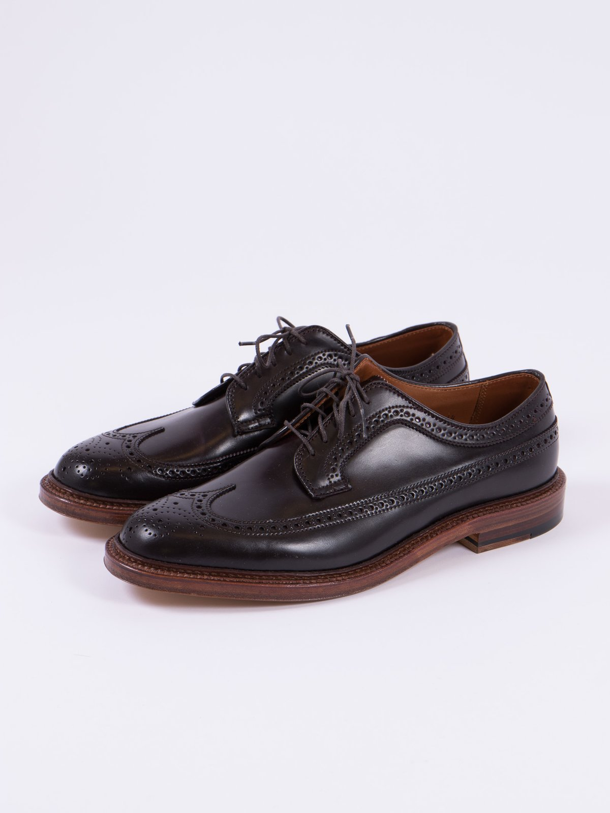 Color 8 Cordovan Long Wing Blucher - Image 2