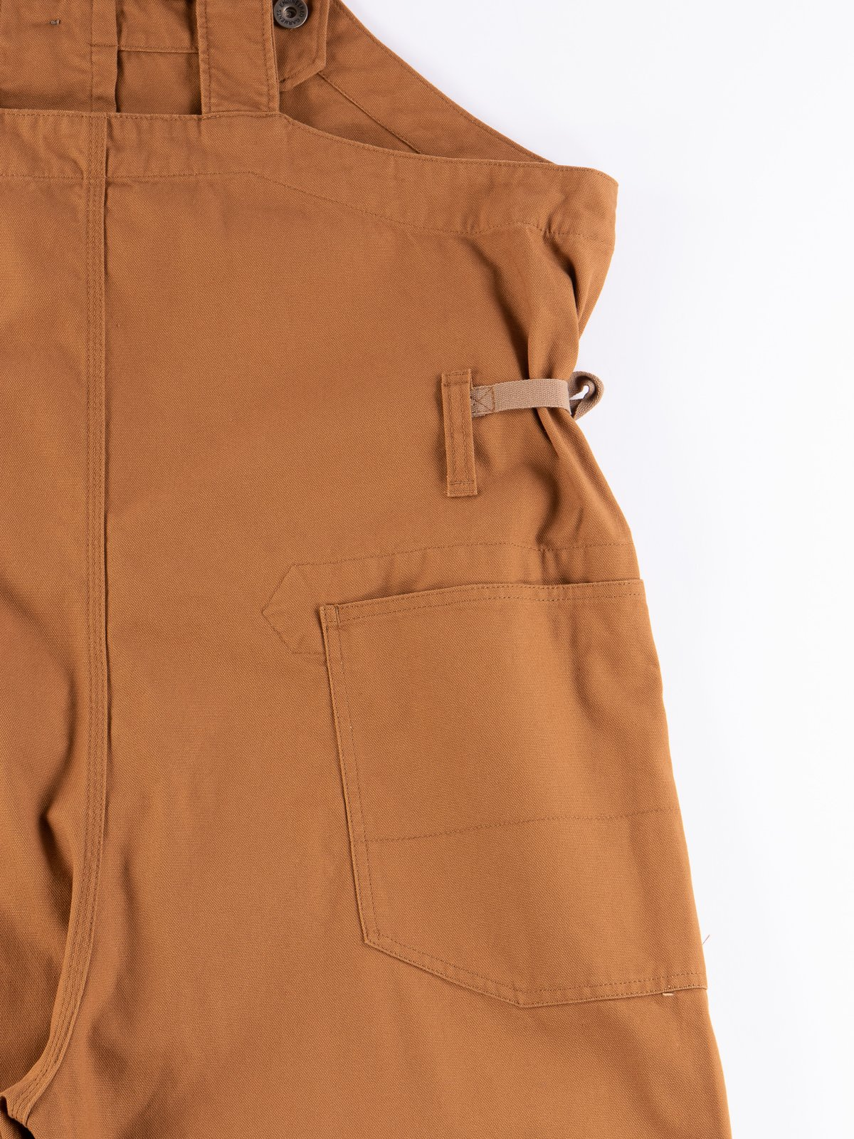 Brown 12oz Duck Canvas Waders - Image 8