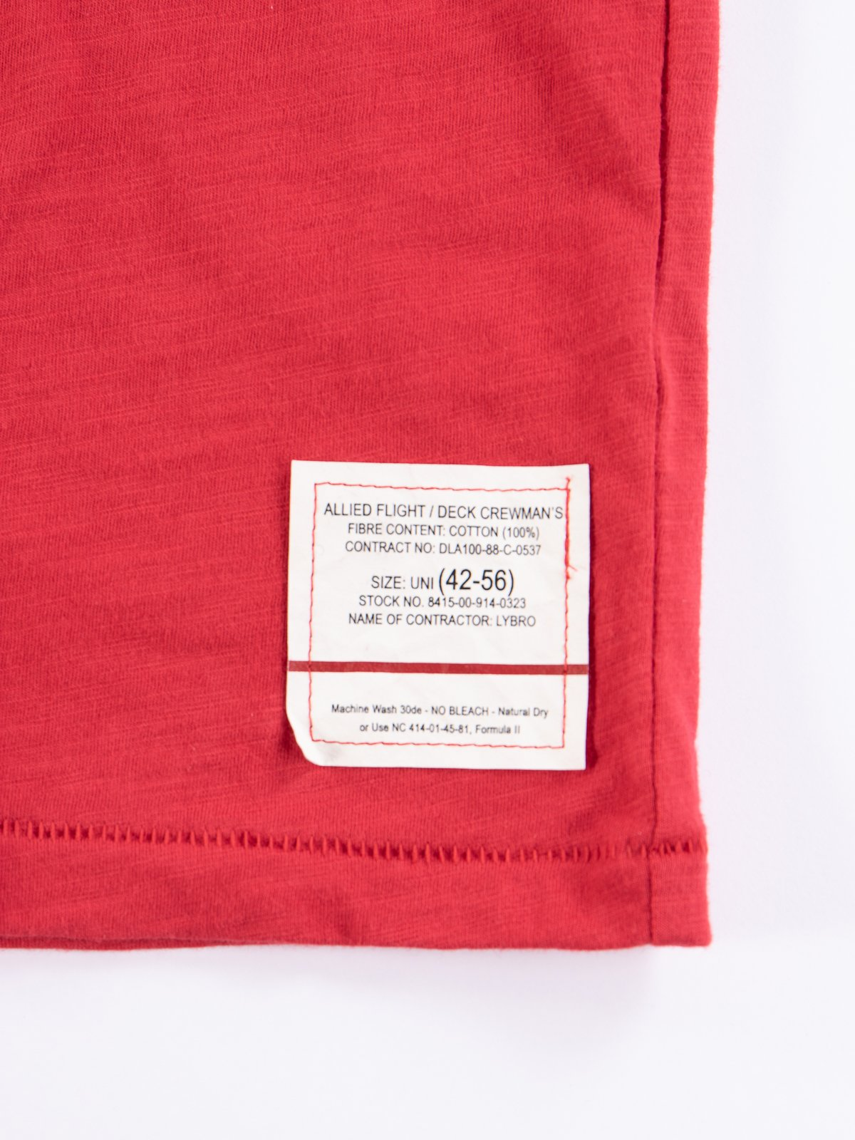 Lybro Red Mix 1/2 Sleeve Tee - Image 5