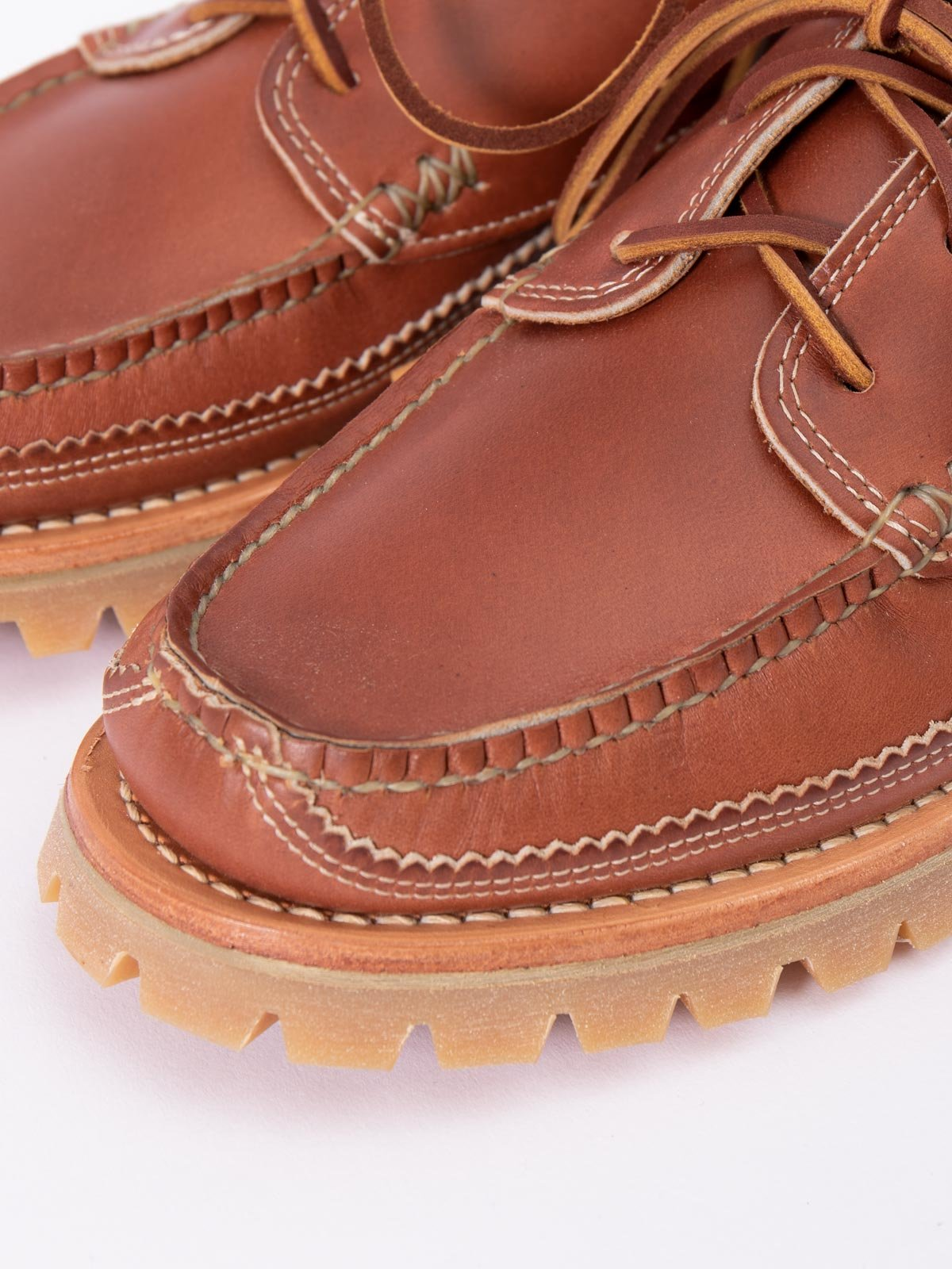 C WHISKEY DB BOAT SHOE W/ LUG SOLE EXCLUSIVE - Image 3