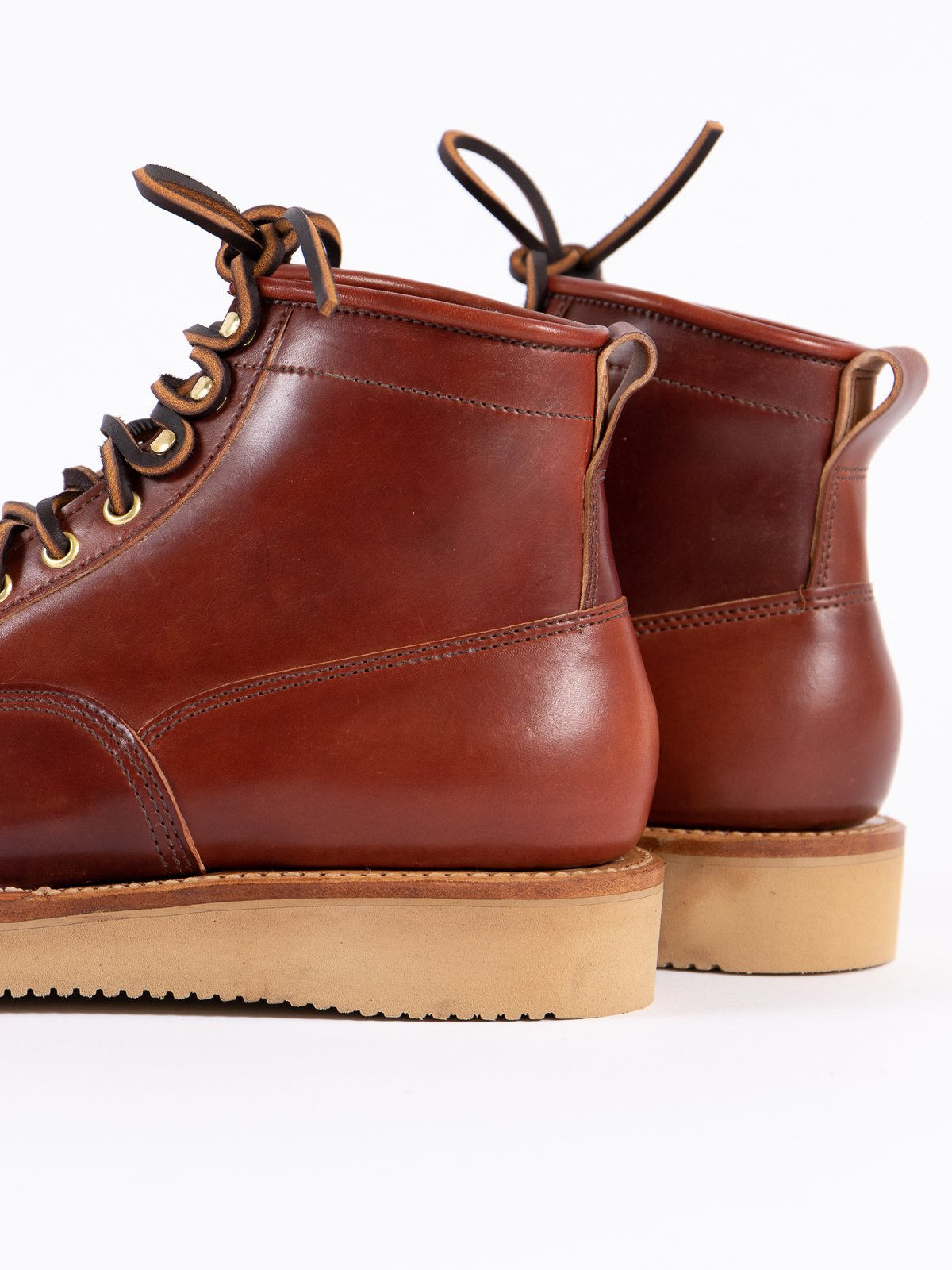 Garnet Shell Cordovan Scout Boot - Image 4