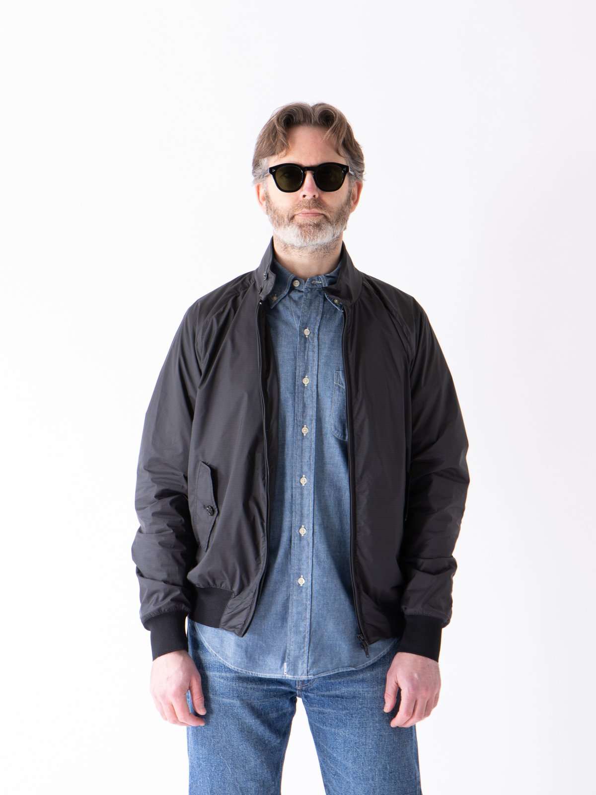 Mini Grey Check G9 EG Jacket - Image 3