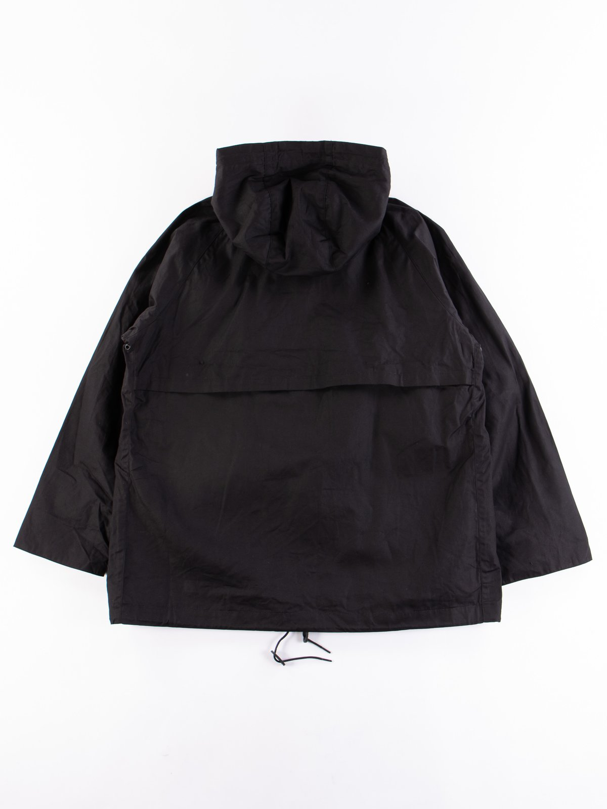 Black British Field Hooded Jacket - Image 5