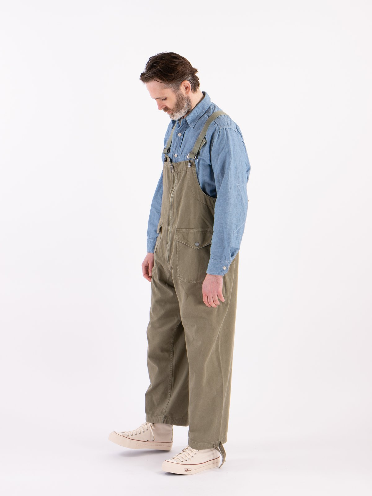 Lybro Washed Army Deck Waders - Image 2