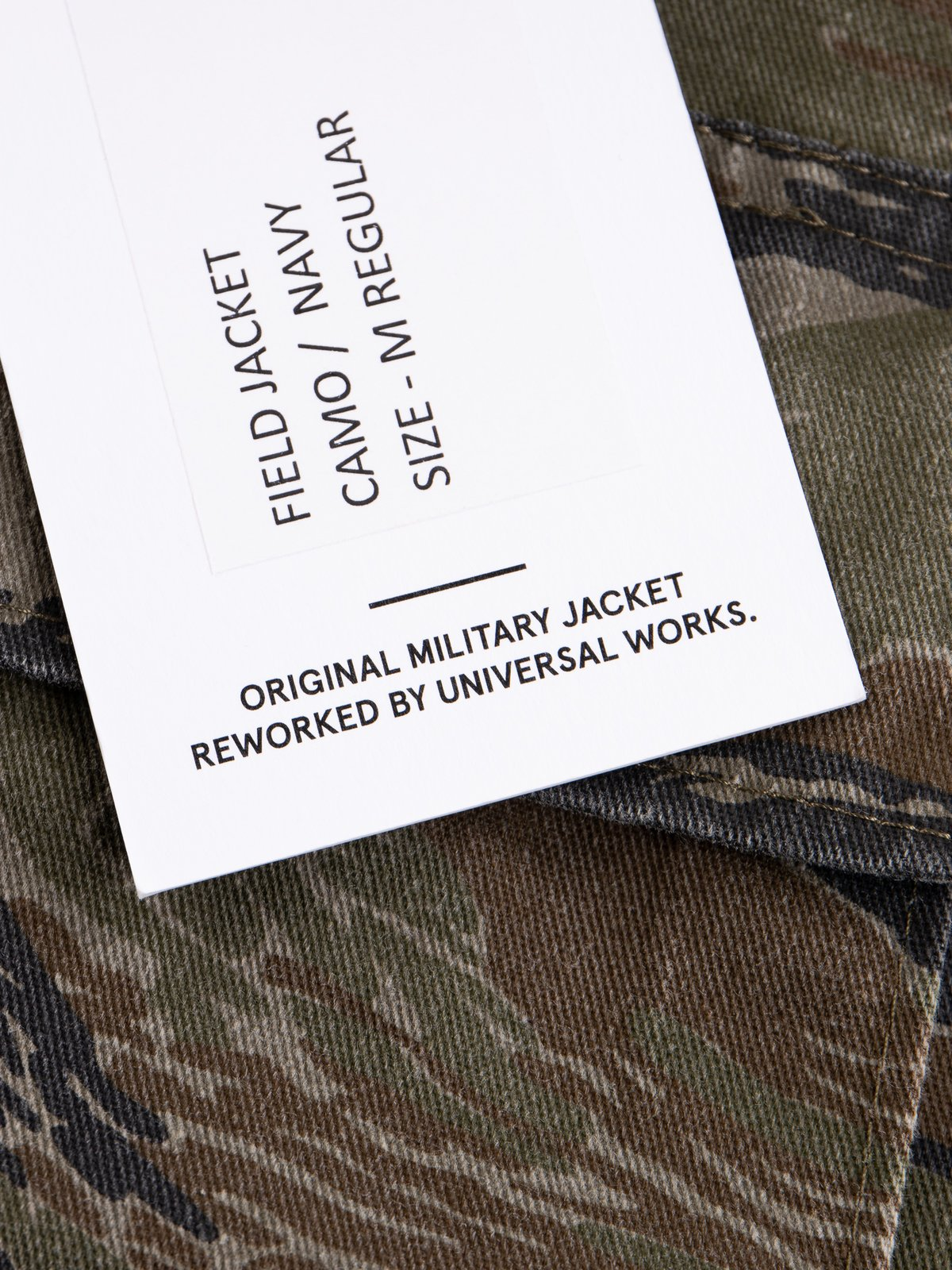 Reworks Camo/Navy Field Jacket - Image 10
