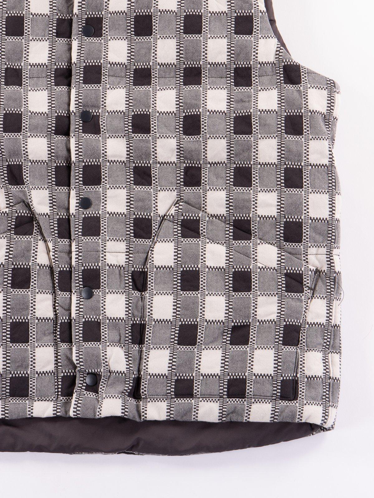 Miwa Yoshino Plaid Vest - Image 4