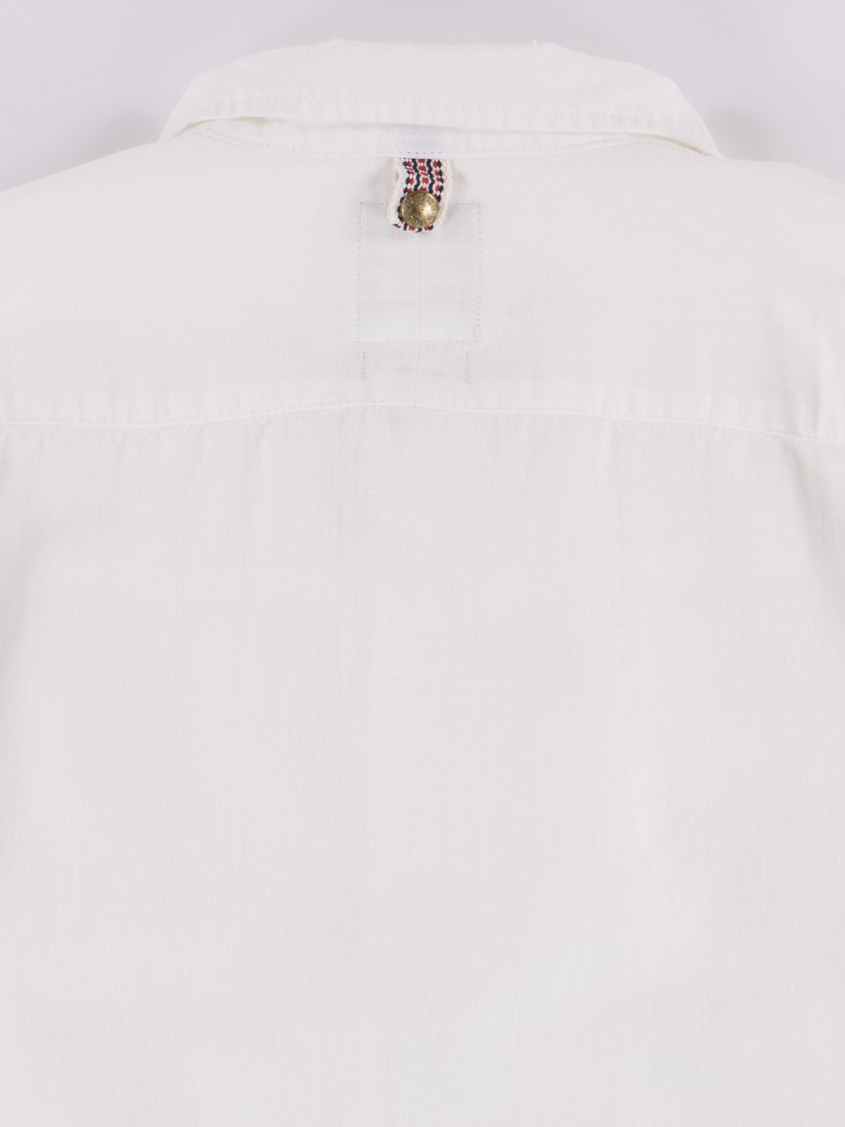 White Chambray Kerchief Tunic Shirt - Image 5