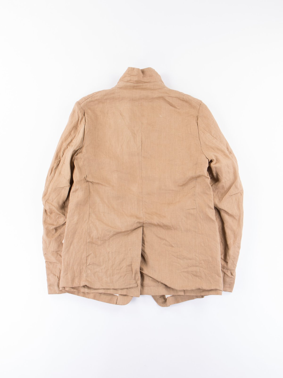 Beige Linen Old Potter Jacket - Image 5