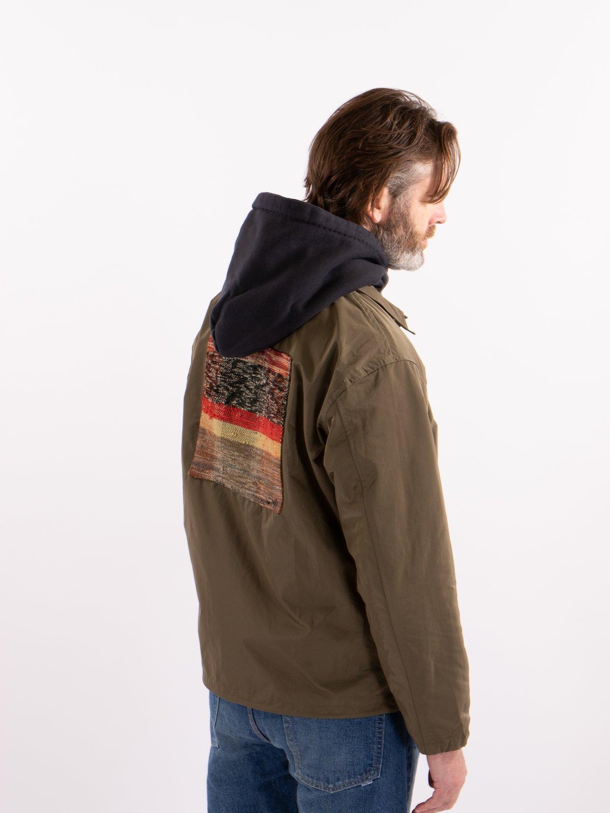 Khaki Coach Jacket - Image 3