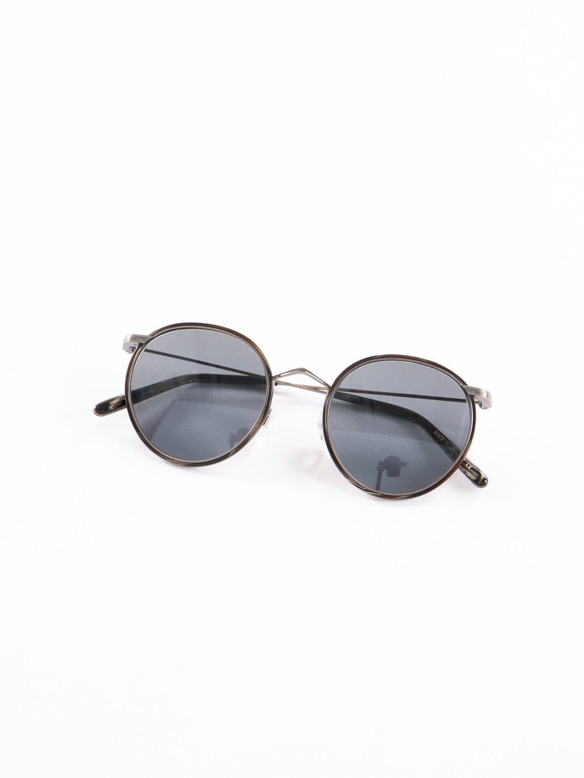 Pewter–Black Horn/Carbon Grey Casson Sunglasses - Image 1