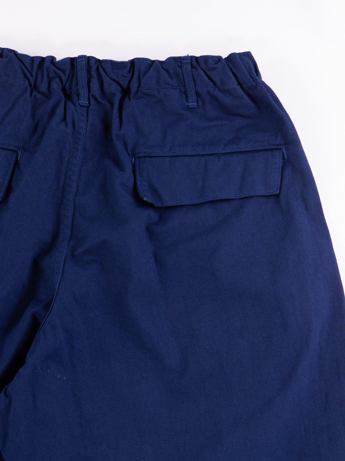 Ink Blue Herringbone TBB Service Pant - Image 6