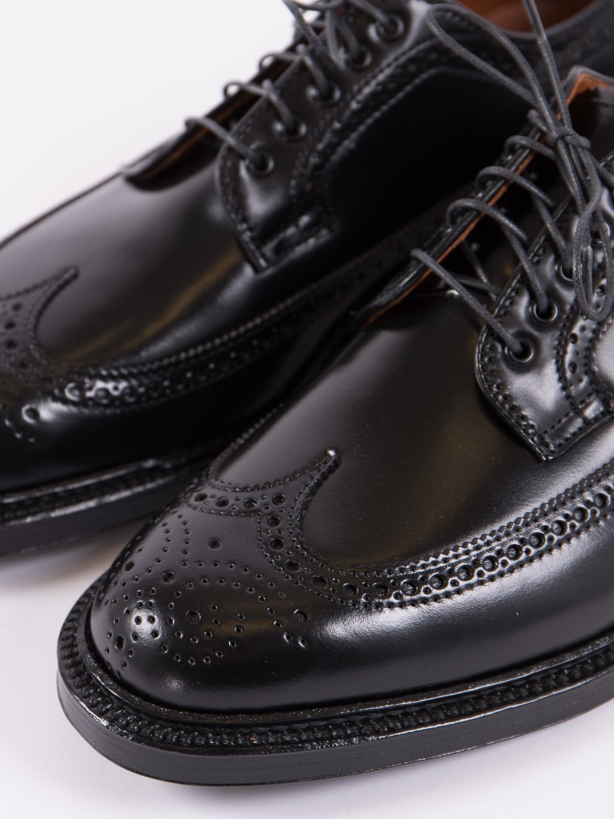 Black Cordovan Long Wing Blucher - Image 2