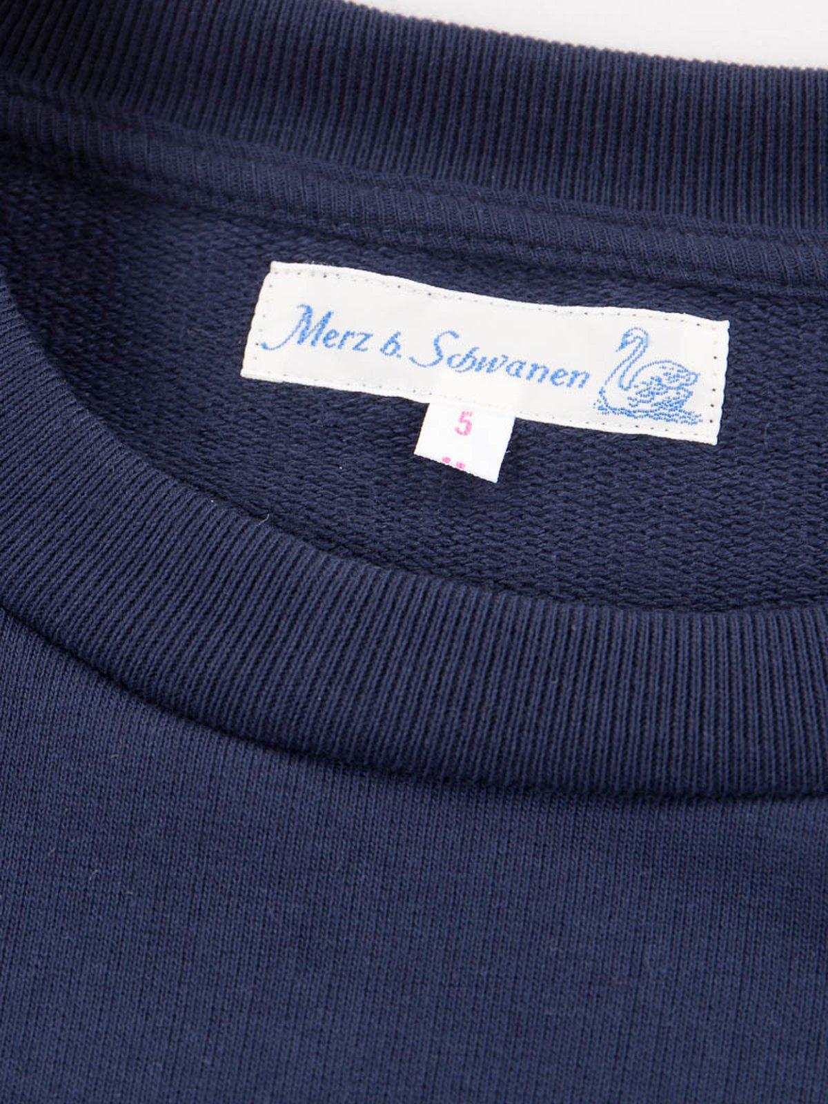 Ink Blue 346OS Organic Cotton Oversized Sweater - Image 4