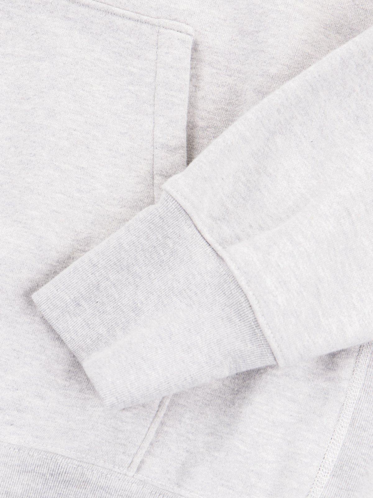 Mid Grey Gusset Pullover Parka - Image 4