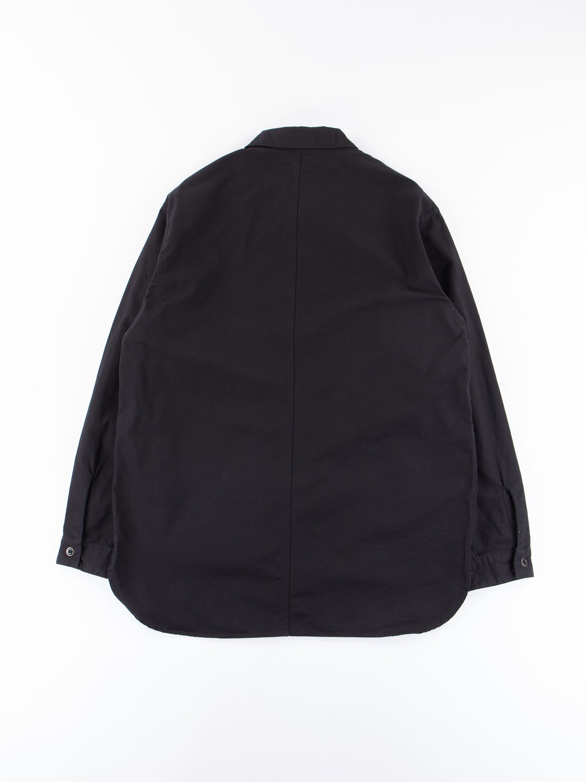 Black Gardener Shirt Jacket - Image 4