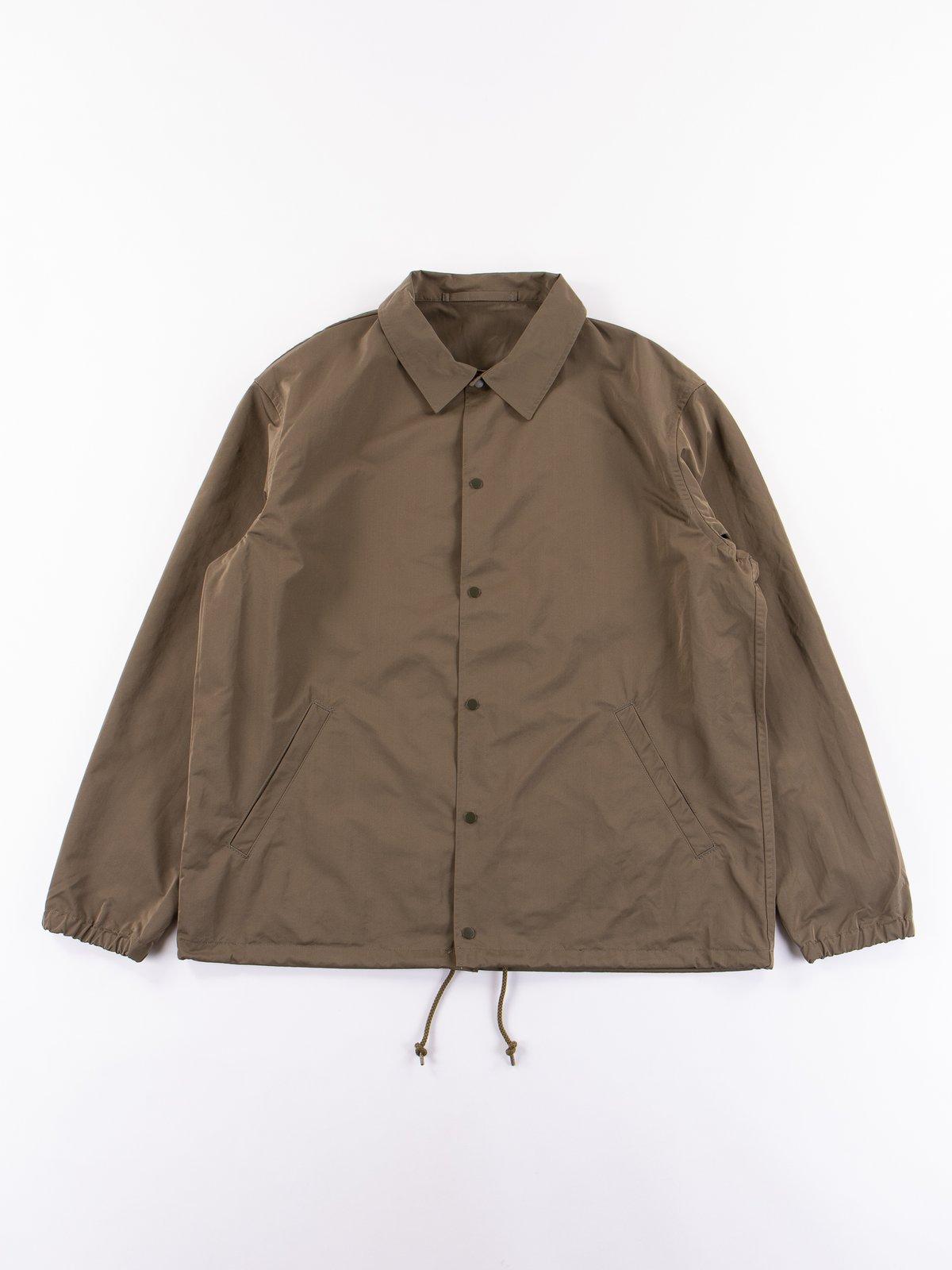 Khaki Coach Jacket - Image 1