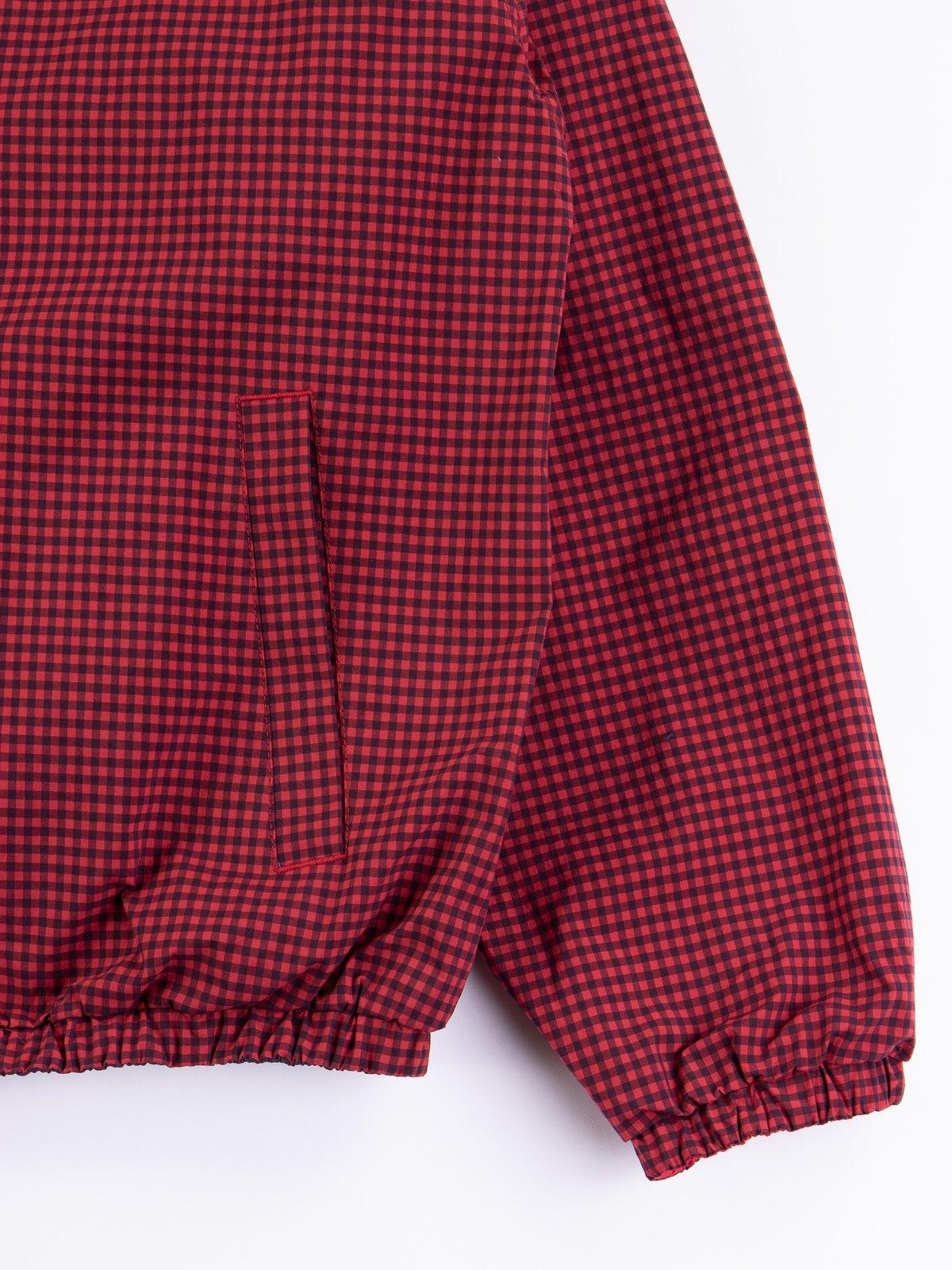 Red Gingham Reversible Jacket - Image 4