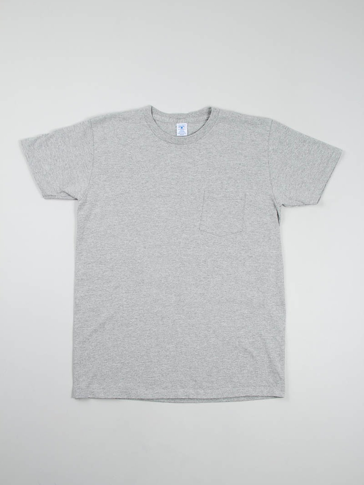 White/Heather Grey 2–Pac Pocket Tees - Image 2