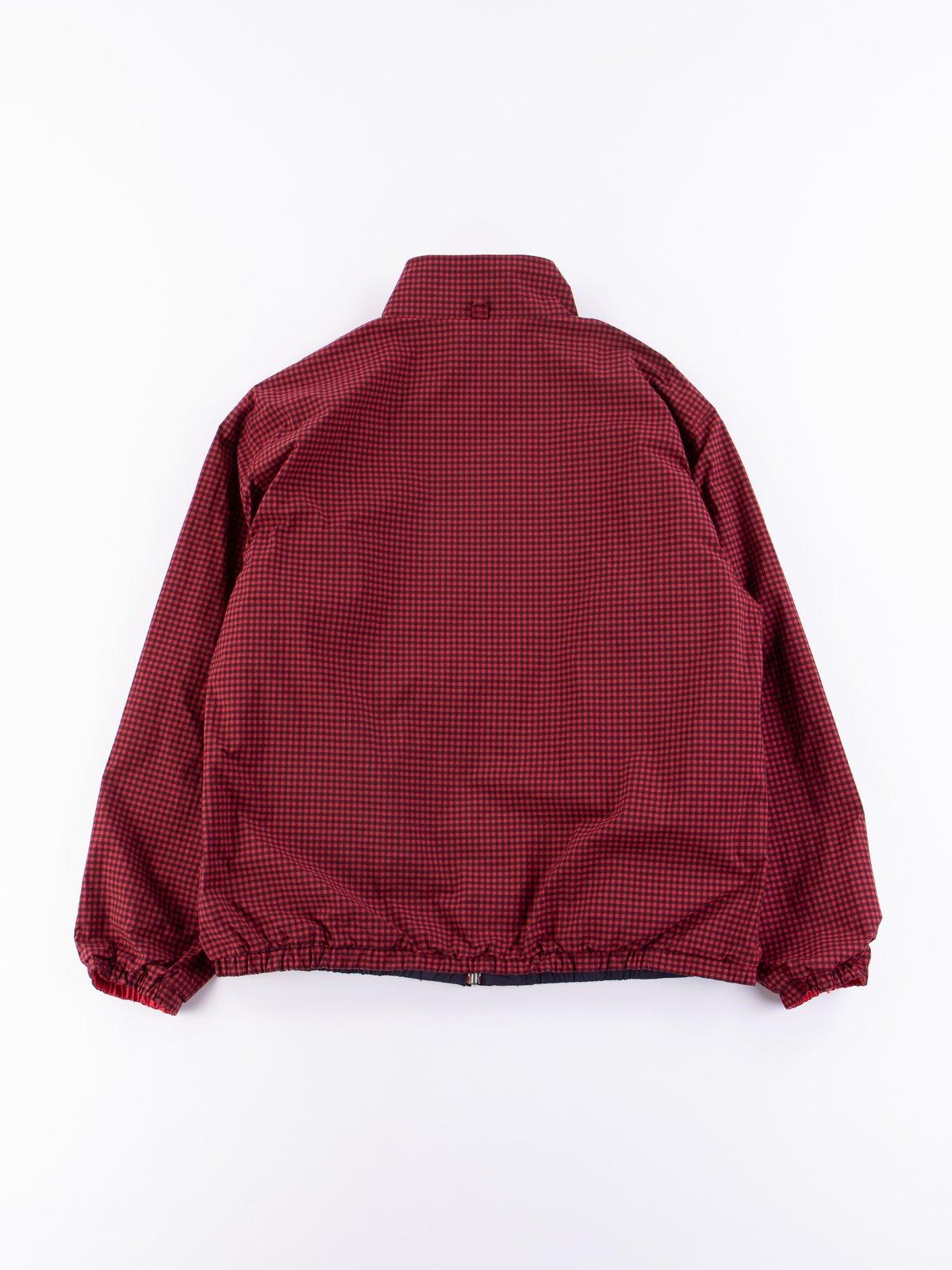 Red Gingham Reversible Jacket - Image 5