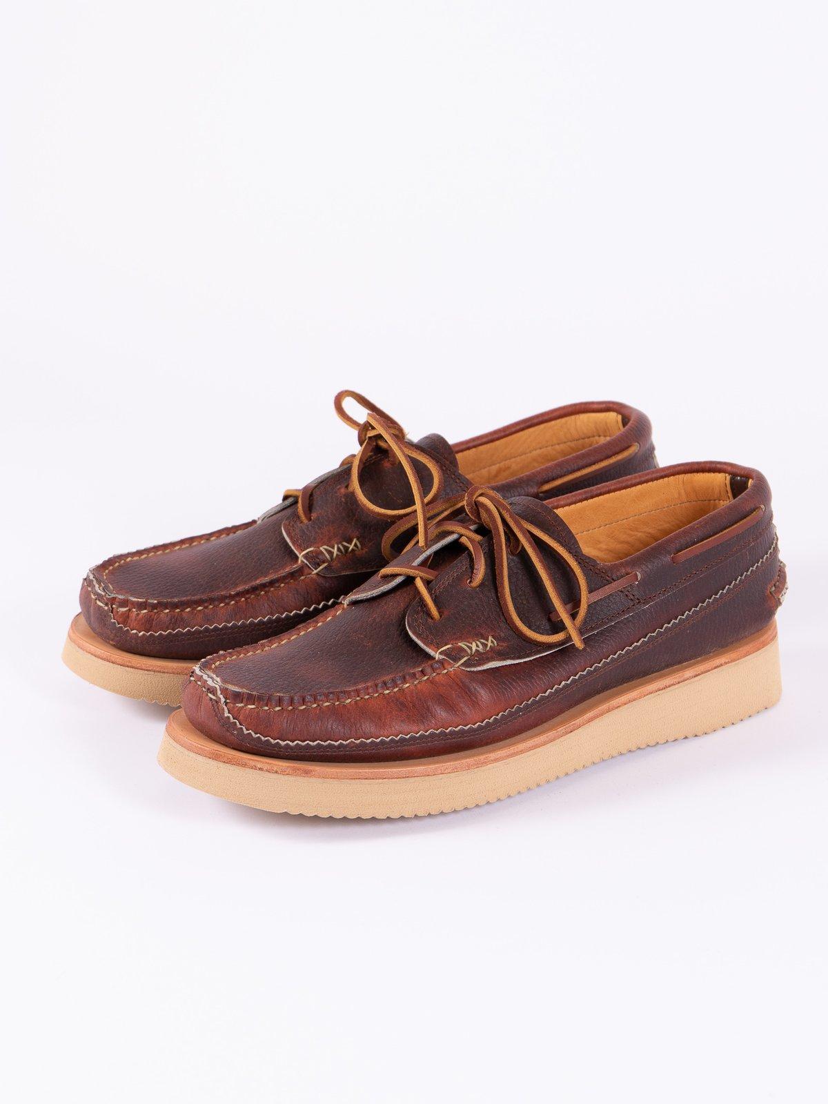 Chromepak Brown Boat Shoe Exclusive - Image 2