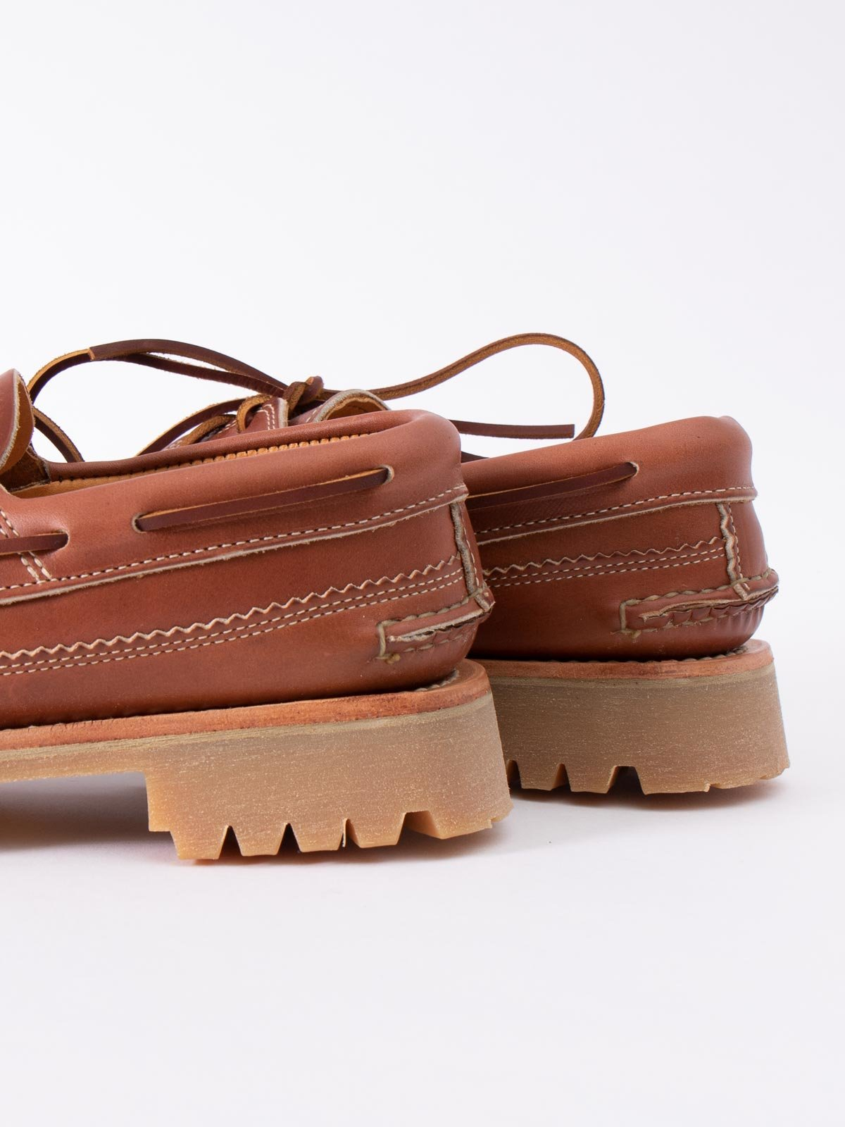 C WHISKEY DB BOAT SHOE W/ LUG SOLE EXCLUSIVE - Image 4