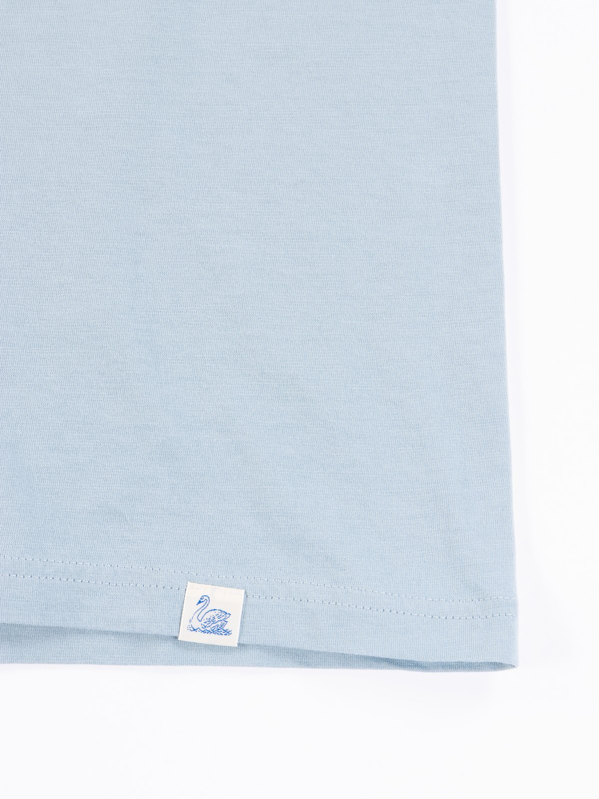 Pale Blue Good Basics CTP01 Pocket Crew Neck Tee - Image 5